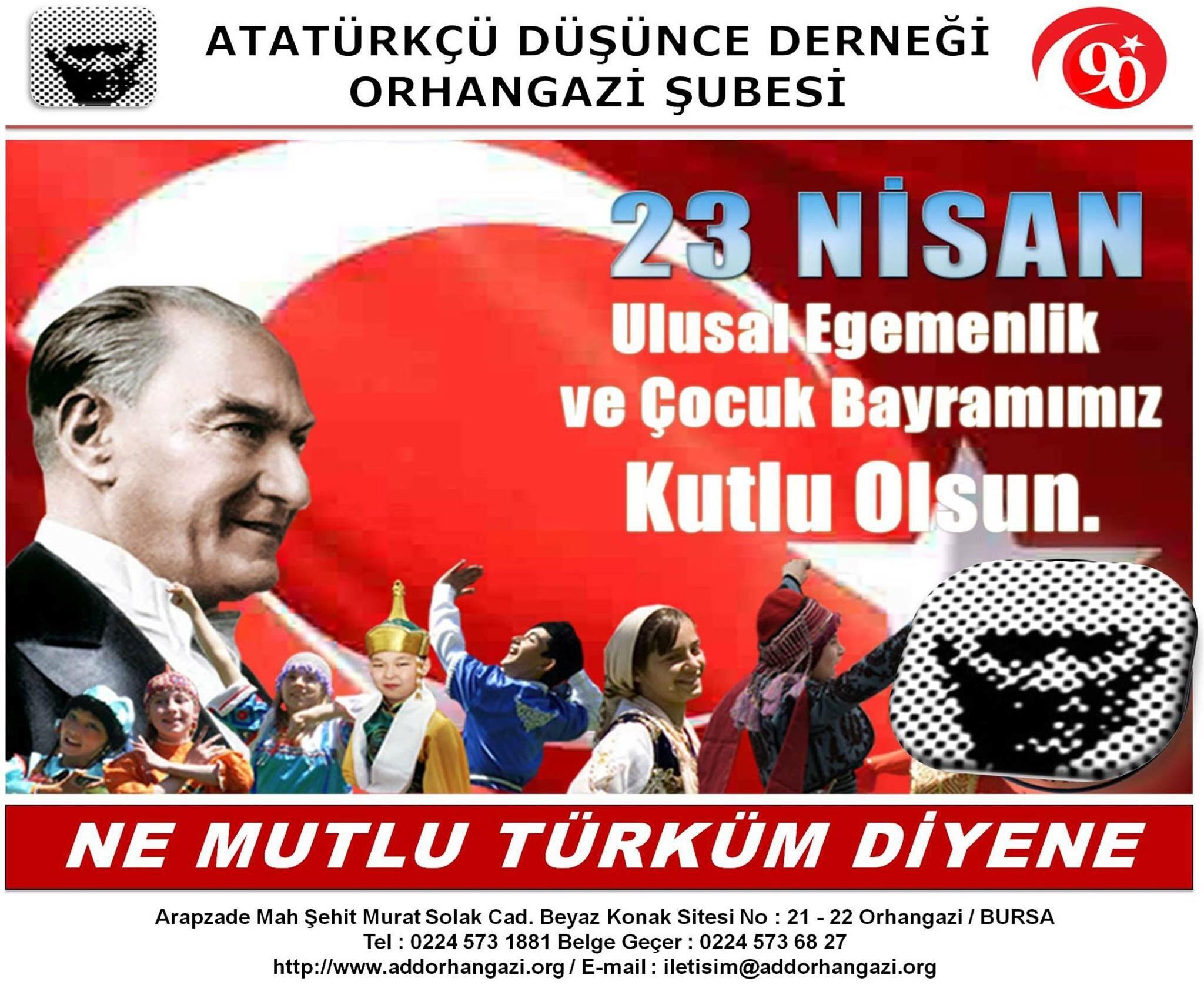 ADD Orhangazi : 23 Nisan Basın Açıklaması