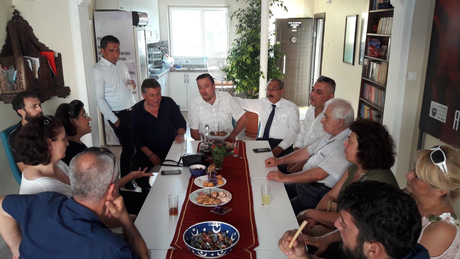 ADD Orhangazi Şubesi, ADD İznik Şubesi Dayanışma Yemeğine katılım sağladı
