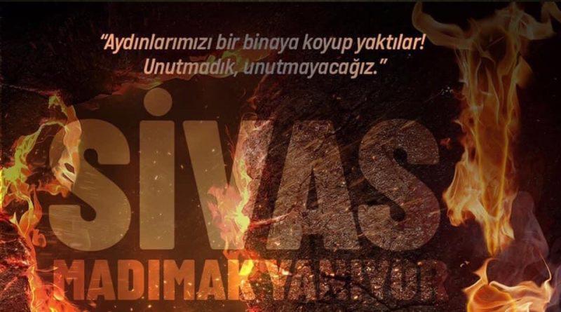 """Saidoğlu; """"Sivas'ta Katledilenlere olan namus ve onur borcumuzu ödemenin tek yolu """"Atatürkçü Düşünce""""yi iktidara egemen kılmaktır."""""""